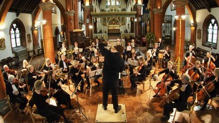 The Amadeus Chamber Orchestra.