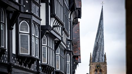 Many have speculated as to why the church's spire bends
