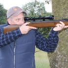 Pete Evans shooting a second-hand BAM XS-B19 break-barrel air rifle for a gun test and review