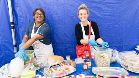 Dishes from around the world were served up at the Elthorne Pride World Food Festival in Sunnyside Community Gardens