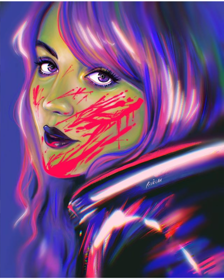 She Hulk by Rosie Alexander will feature in theVibrant Punk Art Show in Ipswich
