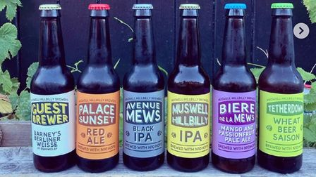 Muswell Hillbilly beers
