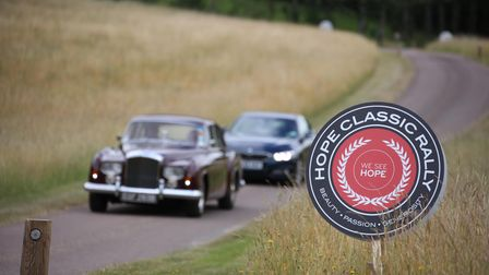 This year's classic car convoy will cover over 100 miles through the stunning Surrey Hills