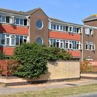 Flats at Harry Chamberlain Court in Lowestoft.