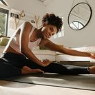 Yoga can be practiced at home and in a studio