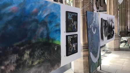 After the Storm? exhibitiononat St Stephen's church in Norwich.