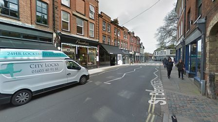 Mr Bainbridge said people were parking on the zig zag lines - which he was told he had to keep free
