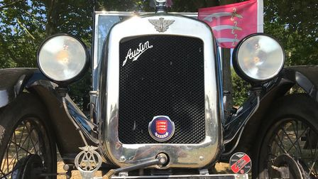 An Austin Seven bearing the Essex flag. Picture: Will Durrant