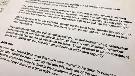 LGA race relations report on Havering Council