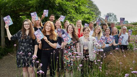 The launch of the Norwich Science Festival brochure at Pensthorpe Natural Park - the headline sponsors of the festival.