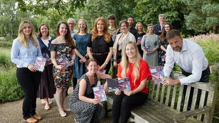 The launch of the Norwich Science Festival brochure at Pensthorpe Natural Park.