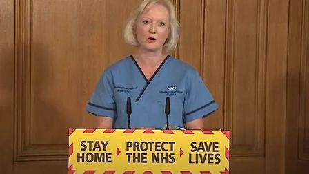 NHS chief nursing officer Ruth May was allegedly dropped from daily coronavirus briefings after refu