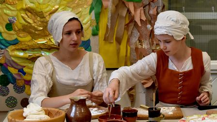 Visitors will be able to sample Tudor food at the event on St Neots Market Square.
