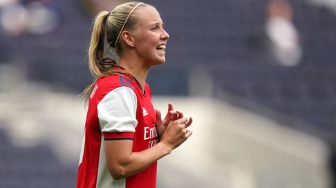 Arsenal's Beth Mead during The Mind Series match at the Tottenham Hotspur Stadium, London. Picture d