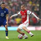 Chelsea's Mateo Kovacic (left) and Arsenal's Emile Smith-Rowe battle for the ball during the Premier