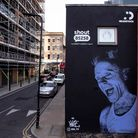Keith Flint mural by Akse based on original photograph by Rahul Singh