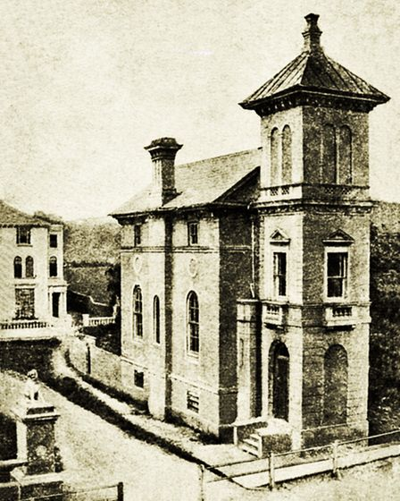 StEdward's Hall in Laurie Town around 1865