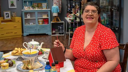 Susan Rudling, owner of Handmade Gifts and Gallery in Norwich