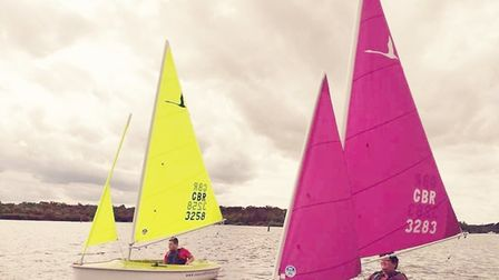 Sailing fun for special needs children on the water