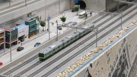 The Japanese layout at Wroxham Miniature Worlds.  Photo: Danielle Booden