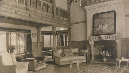 Inside the Sea Marge Hotel in the 1930s.