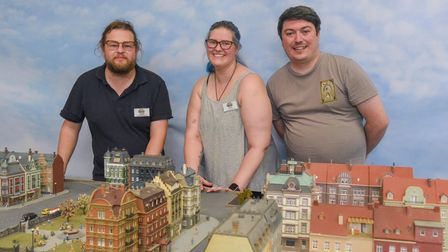 Adam Macro, operations manager, Ruth Baker, attraction operator, and Robert Green, company director,