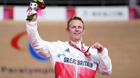 Jody Cundy also won silver for Great Britain at the Tokyo Paralympics