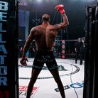 Michael Page entering the Bellator cage