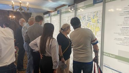 Anglia Square plans displayed at public event