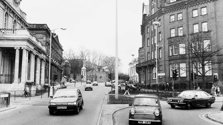Norwich Streets -- P Prince of Wales Road Dated -- 26 March 1985 Photograph -- C4306