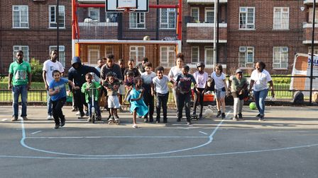 Four hundred and fifty youngsters took part in the Game Time summer programme from four estates in Hackney.