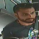 Images of man police want to identify.