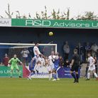 Shirley D Whitlow's photograph of Bishop's Stortford FC v Lowestoft Town FC. 4th September 2021. Ph