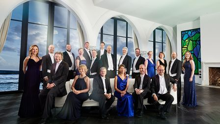 The Sixteen will perform at Saffron Hall.