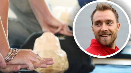 Free CPR workshops will be held in St Neotsafter Danish footballer Christian Eriksen collapsed during Euro 2020.