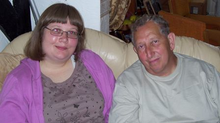 Joanna Bailey and her father Keith