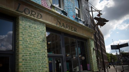 The Lord Napier pub opened in the 1860s.