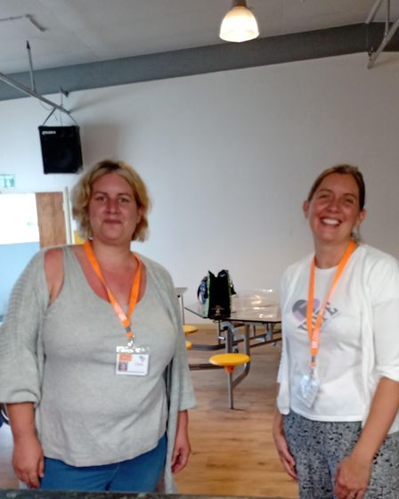 Two women connected to Make Lunch, Saffron Walden project to help families, Essex
