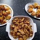 Some of the tasty food served up at Saffron Walden's Make Lunch club, Essex
