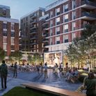 An image of how the development in Cricklewood could look when finished (credit EPR Architects)