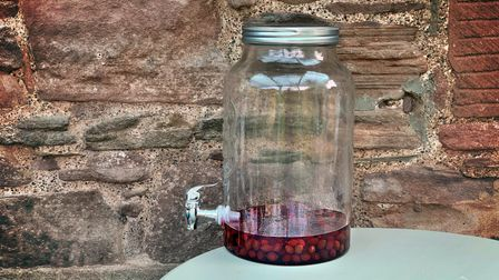 Make your own sloe gin from foraged ingredients