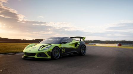 The new Emira GT4 from Lotus