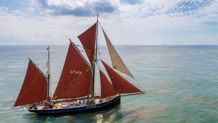 Sailing icon Excelsior LT472 has been awarded 'Freedom of The Town of Lowestoft' honour.