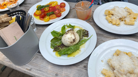 Pasta bar Yard opened in Norwich in July this year and it has proved very popular.