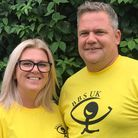 Bruce and Cheryl Staines will be running for BBS UK (Bardet-Biedl Syndrome) onOctober3atGrafhamWater.
