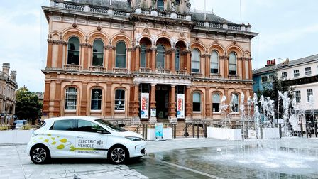 The residents of Ipswich are being asked to help choose the names of Ipswich Borough Council's new electric vehicles