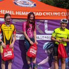Ella Ruggles of Verulam Reallymoving won the junior women's race at round one of the Central Cyclo-cross League.