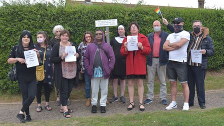 Great Yarmouth and Waveney Pride join members of Norfolk Lab who use the facilities at The Old Hall
