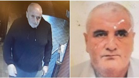 Appeal to find Andrew Noble, 65, who was last seen at the Wheatsheaf pub in Wisbech on Thursday afternoon. - Credit: POLICE