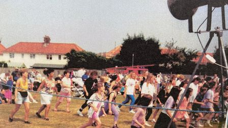 An archive picture from a previous Mile Cross Festival